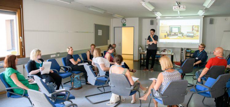EMAC features at the EPALE agenda in Viena, Austria